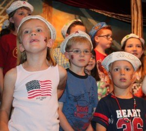 "Vacation Bible School ""sailors"""