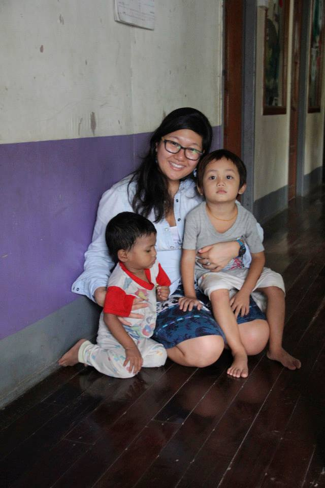 Our latest intern, Suyeon, is spending a lot of time with orphans.