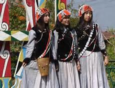 Lisu girls in traditional dress.