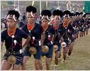 Naga new year celebration