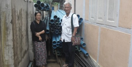 pipes for the well