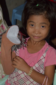 puppet sock
