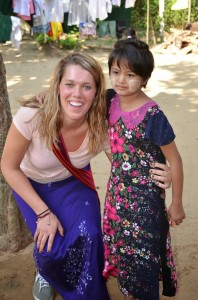 Courtney Prater, Hanover College graduate from Indiana, is spending 70 days in Myanmar teaching at Hope Children's Home near Yangon.
