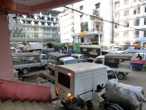 Yangon congestion